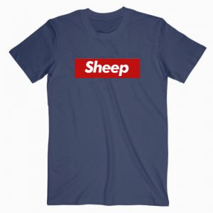 Sheep Supreme Parody T shirt