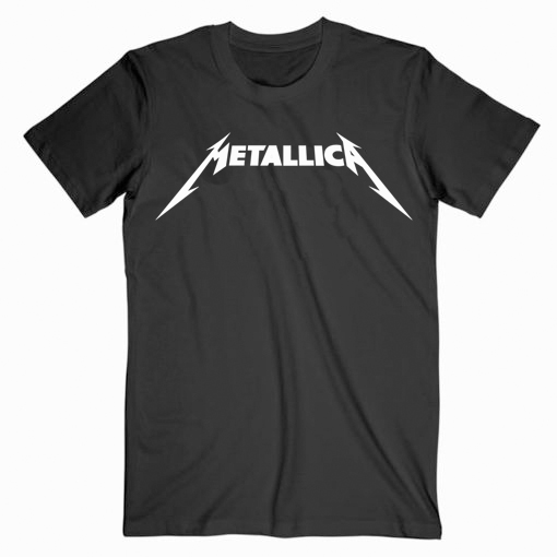 Metallica Logo Music T shirt Unisex